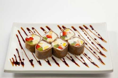 Десертные роллы