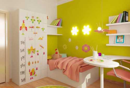 Идеи для детских комнат, оформленных по
